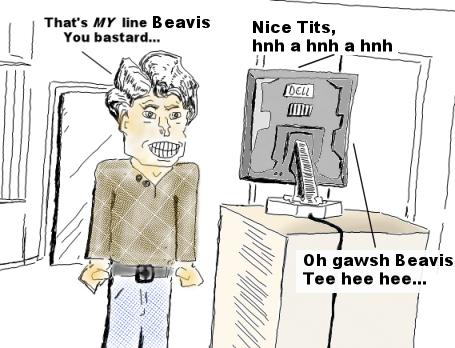 Beavis's New Job